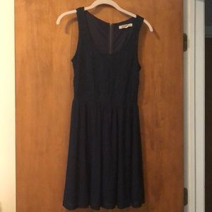 Rewind Navy Blue Dress